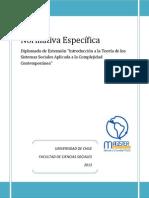 Normativa Diplomado Extension