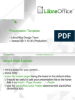 Libreoffice Presentation Template Community