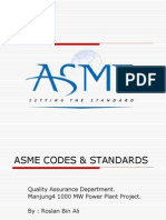 Overview of ASME BPVC Standard
