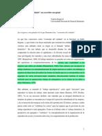 """Esquivel - La """"Economía del cuidado"""" un recorrido conceptual (2011)"""