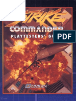 Strike Commander - Playtester's Guide