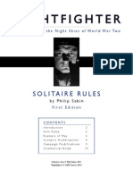 Nightfighter Solo Solitaire Rules ThinkAI