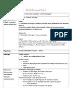 ss unit lesson plan 2