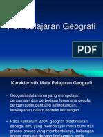 pembelajaran geografi