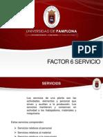 Factor 6 Servicio