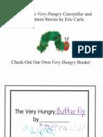 Kindergarten - Very Hungry Butterfly