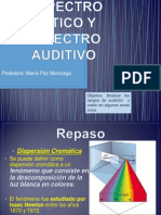 Espectro Optico y Espectro Auditivo