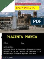 Placenta Previa Dr. Venegas