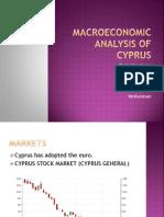 Macroeconomic Analysis of Cyprus