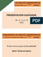 Seminario de Derecho Administrativo de Cge Dispositivas