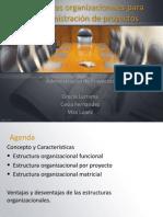estructuras organizacionesles