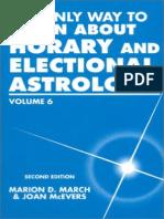Aprenda Astrologia Volumen 6 Astrologia Horaria y Electiva