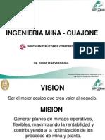 Ing Edgar Peña-INGENIERIA DE MINA CUAJONE