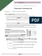 CalorimetryLabSE