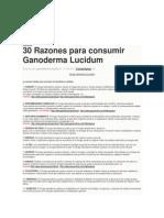 30 Formas de Ganoderma