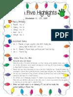 HighFiveHighlights11.27.13