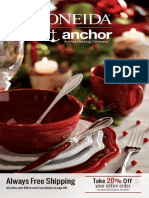 Oneida December Catalog