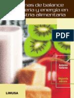 Balance Masa y Energia - Problemas de Balance de Materia y Energia en La Industria Alimentaria