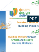 Building Thinkers
