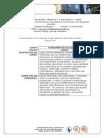 Actividades Fundamentos de Economia 2013 II