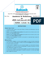 Paper 1 Code 0 Solution Aakash