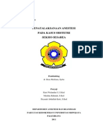 Referat-Anesthesia for Cesarean Section