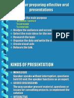 Presentation gudeline