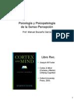 Psicología y psicopatología de la senso percepción