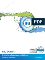 White Paper - Citrix XenDesktop on vSphere With Nutanix