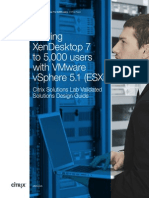 White Paper - Scaling XenDesktop 7 to 5,000 Users