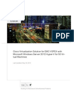 Design - Cisco Virtualization Solution for EMC VSPEX With Microsoft Hyper-V 2012 for 50 VM