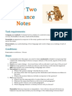 Paper Two Guidance Notes 2014-15