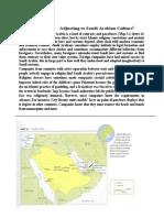 Article Saudi ArabianCulture