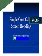 Single Core Cable Bonding