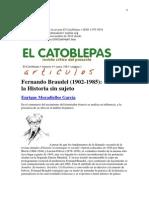 BRAUDEL El Catoblepas