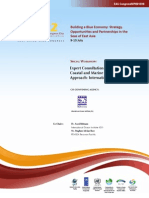 Proceedings of the Expert Consultation Workshop on Coastal and Marine Spatial Planning Approach