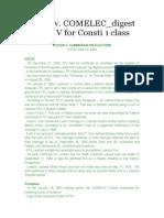 Tecson v COMELEC Digest