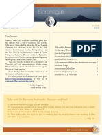 Saranagathi eNewsletter October 2013