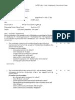 cote efe eval form doc