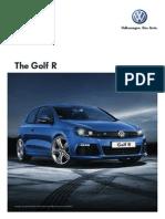 Golf r Brochure