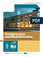 Prefabrication Modularization in the Construction Industry SMR 2011R