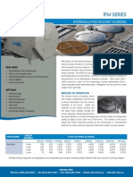 IFM Internally-Fed Rotary Screens