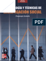 Metodología y técnicas de investigación social.