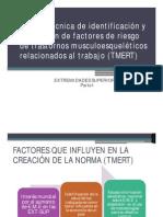 Norma Técnica de identificación y evaluación de factores(1)