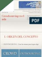 Crowdsourcing en El Aula