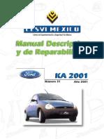 Manual Ford KA 2001
