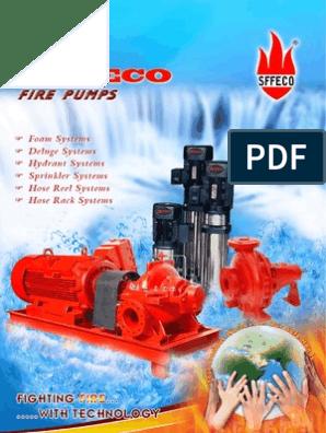 Sffeco Electrical Diesel Jockey Pumps | Pump | Engines