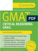 GMAT Critical Reasoning Grail (GMAT)