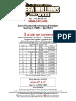 MMVIII $65 Satellite Structure and Event Information