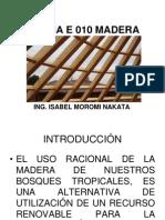 Norma e 010 Madera r